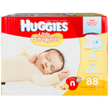 Huggies Little Snugglers, Super Pack Newborn Diapers (88 ea)