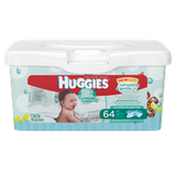Huggies One And Done Refreshing Baby Wipes, Tub 64 (64 ea)