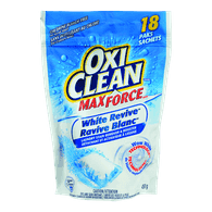 OxiClean White Revive Laundry Stain Remover (18ea)  - Urbery