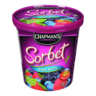 Chapman's Ice Cream Tub Sorbet Triple Berry (2L)