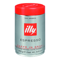 Illy Medium Roasted Coffee, Whole Bean (250g)  - Urbery