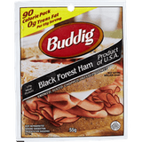 Buddig Black Forest Ham, Sliced (55g)