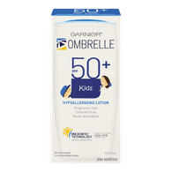 L'Oreal Ombrelle Kids Sunscreen Lotion, SPF 50 (120mL)  - Urbery