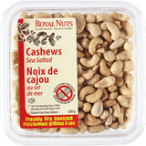 Royal Nuts Dry Roasted Sea Salt Cashews (350g)