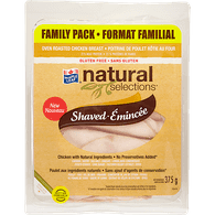 Maple Leaf Natural Selections Oven Roasted Chicken Breast, Family Pack (375g)  - Urbery