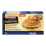 Schneiders Country Naturals Turkey Burgers (568g)  - Urbery