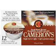 Camerons Coffee Cameron's Single Serve Pods, Toasted Southern Pecan (12ea)  - Urbery