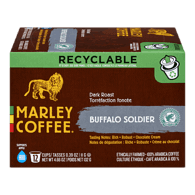 Marley Coffee Single Serve Pods, Buffalo Soldier (12ea)  - Urbery