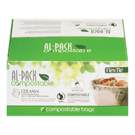 Al-Pack Compostable Bags (125ea)  - Urbery