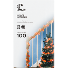 Life At Home Indoor Lights Mesh Tube Light (set of 100)  - Urbery