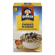 Quaker Kids' Oatmeal, Cookies 'N Cream (304g)  - Urbery