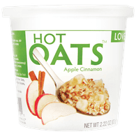 Love Grown Hot Oats, Apple Cinnamon (63g)  - Urbery