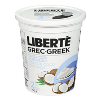 Liberte Greek Yogurt, Coconut 2% (750g)  - Urbery