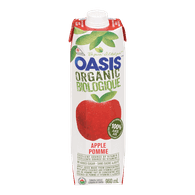 Oasis Organic Apple Juice (960mL)  - Urbery