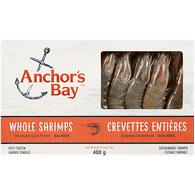 Anchor's Bay Whole Shrimp (400g)