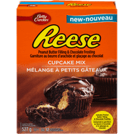 Betty Crocker Peanut Butter & Chocolate Cupcake Mix (527g)  - Urbery