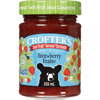 Crofters Organic Superfruit Spread, Just Fruit(235mL)  - Urbery