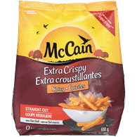 McCain Straight Cut Fries, Spicy (650g)  - Urbery