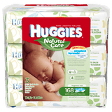 Huggies Natural Care Baby Wipes (3x58ea)
