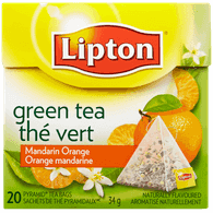 Lipton Green Tea, Mandarin Orange (20ea)  - Urbery