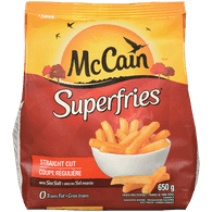 McCain Superfries Straight Cut (650g)  - Urbery