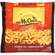 McCain Straight Cut French Fries (1.5kg)  - Urbery