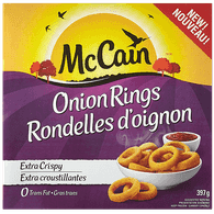 McCain Onion Rings (397g)  - Urbery