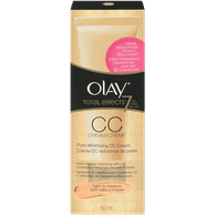 Olay Total Effects Pore Minimizing CC Cream Light to Medium (50mL)  - Urbery