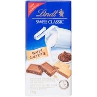 Lindt Lindor Swiss Classic, Wafer (100g)  - Urbery
