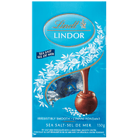 Lindt Lindor Sea Salt Bag (150g)  - Urbery