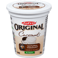 Astro Original Yogurt, Coconut (650g)  - Urbery