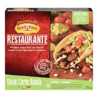 Old El Paso Restaurante Taco Kit, Steak Carne Asada (279g)  - Urbery