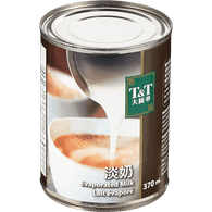 T&T Canned  Evaporated Milk (370mL)  - Urbery