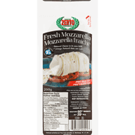 Fresh Mozzarella, Sliced (250g)  - Urbery