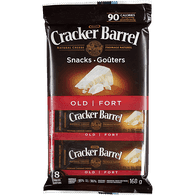 Kraft Cracker Barrel Cheese Snacks Old White Cheddar (168g)
