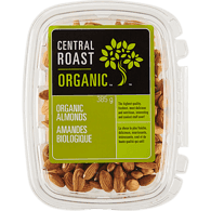Central Roast Organic Almonds (400g)  - Urbery