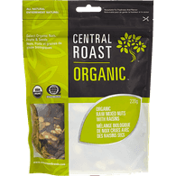 Central Roast Organic Mixed Nuts with Raisins (220g)  - Urbery