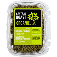 Central Roast Organic Raw Pumpkin Seeds (400g)  - Urbery