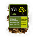 Central Roast Mixed Nuts, Raw Unsalted (375g)