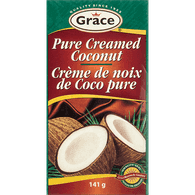 Grace Canned  Pure Creamed Coconut (141g)  - Urbery