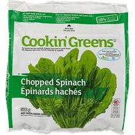 Cookin Greens Organic Chopped Spinach (300g)  - Urbery