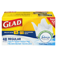 Glad Kitchen Catchers, Regular (48ea)  - Urbery