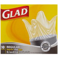 Glad Kitchen Catchers Clear Bags, Regular (48ea)  - Urbery
