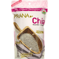 Prana Prana Organic Whole White Chia Seeds (300g)  - Urbery