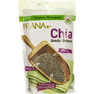 Prana Organic Whole Black Chia Seeds (300g)  - Urbery