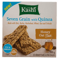 Kashi Crunchy Granola & Seed Bar Honey Oat Flax (200g)