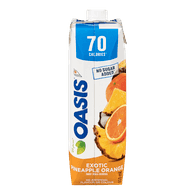 Oasis 70 Cal, Pinapple Orange Exotic (960mL)  - Urbery