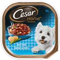 Cesar Dog Food Home Delights Beef Stew (100g)