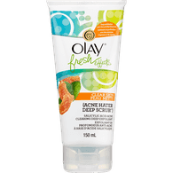 Olay Fresh Effects Clear Skin Acne Hater Deep Scrub (150mL)  - Urbery