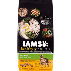 Iams Healthy Naturals Cat Food Chicken Recipe (2.49kg)  - Urbery
